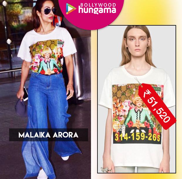 Weekly Celeb Splurges: Malaika Arora in Gucci