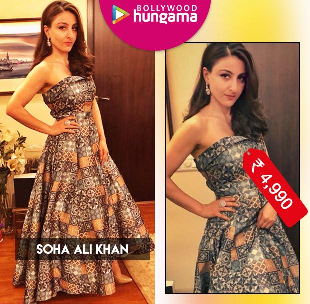 Weekly Celeb Splurges: Soha Ali Khan in RV