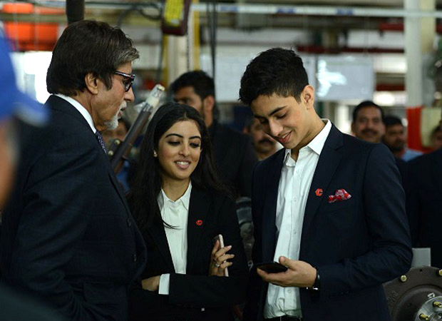 Amitabh Bachchan's grandson Agastya to enter Bollywood but not as an ACTOR?