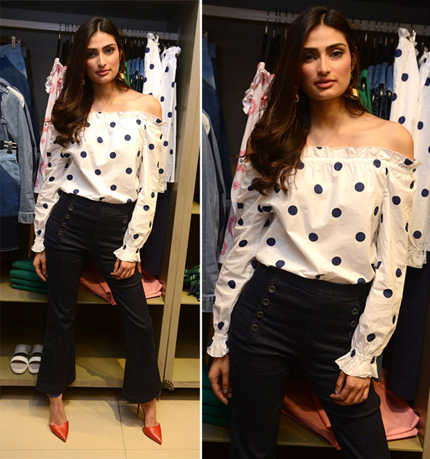 Athiya Shetty at the launch of April edition of Cosmopolitan