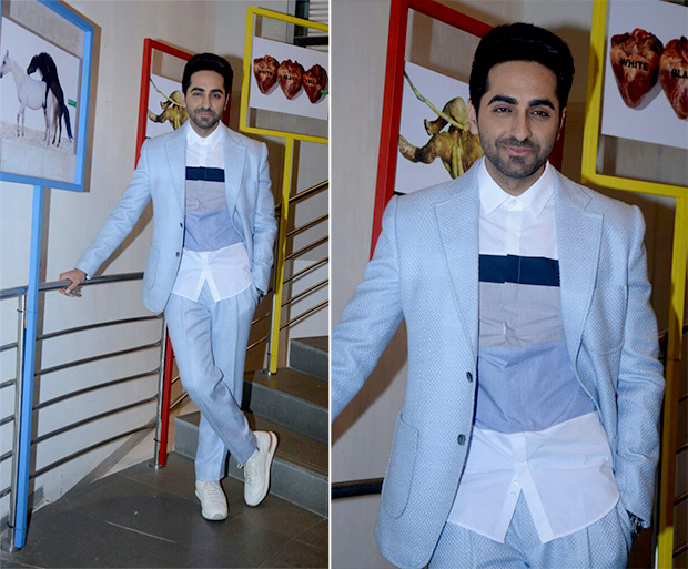 Ayushmann Khurrana at the launch of his cover for Man's World