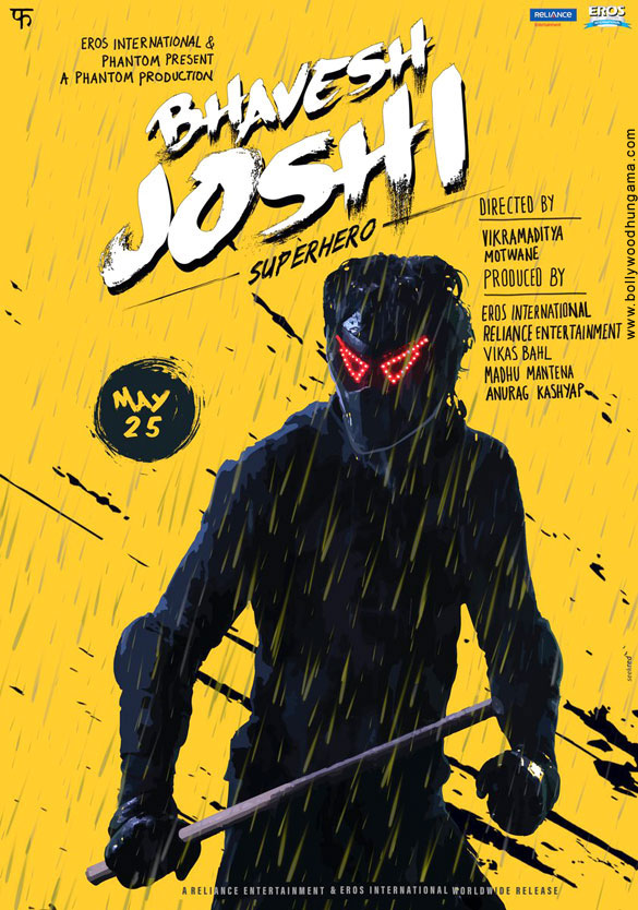 FIRST LOOK: Harshvardhan Kapoor as masked superhero in quirky posters of Bhavesh Joshi Superhero