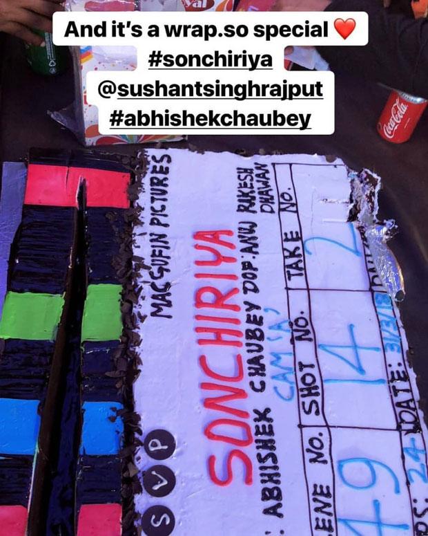 Bhumi Pednekar and Sushant Singh Rajput wrap up Abhishek Chaubey's Son Chiriya