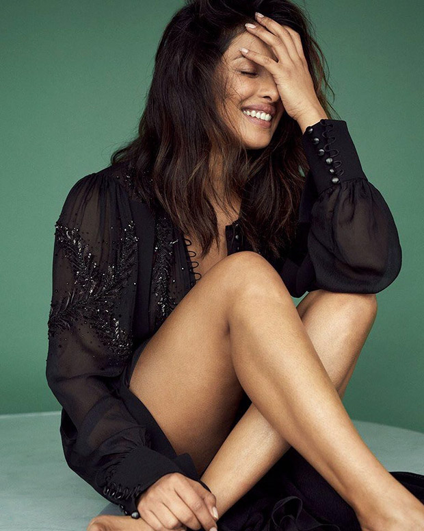 Black is her happy colour - Priyanka Chopra