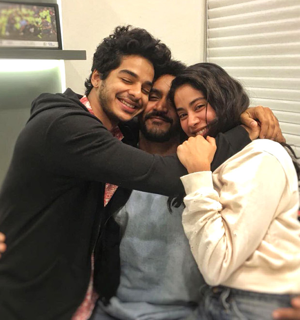 DHADAK WRAP UP: Janhvi Kapoor and Ishaan Khatter get MUSHY in a gooey sweet post with Shashank Khaitan