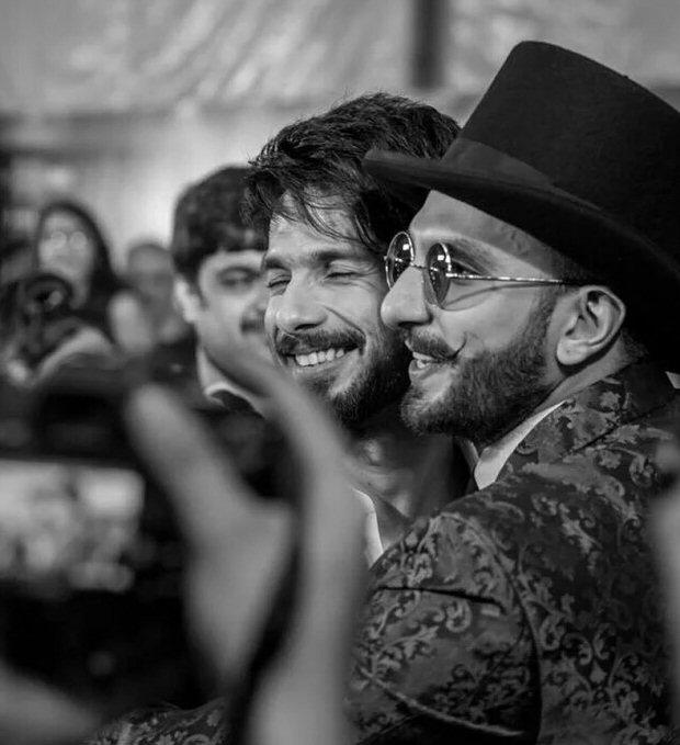 Dadasaheb Phalke Excellence Awards: 'Khilji' Ranveer Singh gives a tight hug to 'Maha Rawal Ratan Singh' Shahid Kapoor