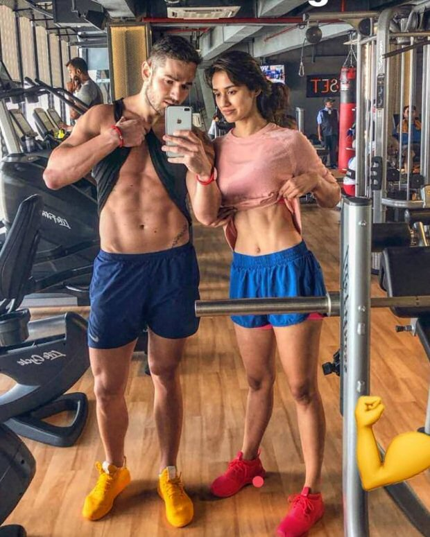 HOT! Disha Patani flaunts her abs in this gym pic