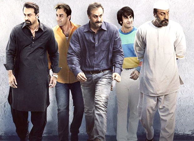 FIRST LOOK: Ranbir Kapoor sports different avatars in the first poster of Sanjay Dutt biopic titled Sanju