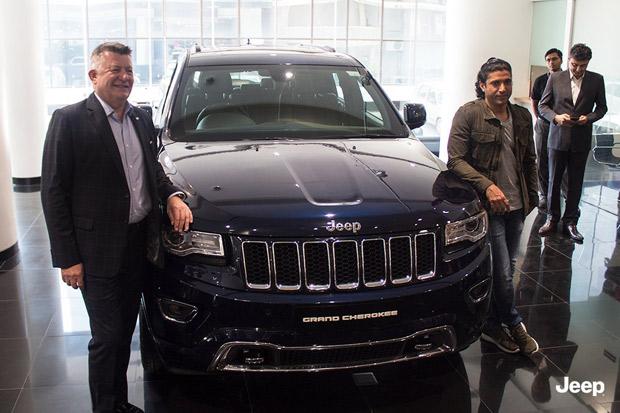 Farhan Akhtar buys a Jeep Grand Cherokee SUV