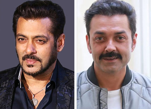 Here's how Salman Khan and Bobby Deol address each other as on the sets of Race 3