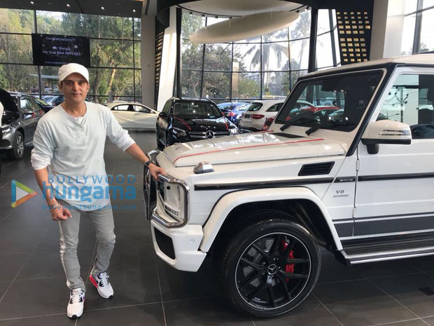 Here's the set of hot wheels Jimmy Shergill just got himself that Ranbir Kapoor already owns