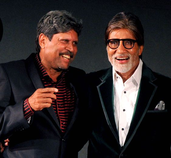 Here's why former Indian captain Kapil Dev admires Amitabh Bachchan