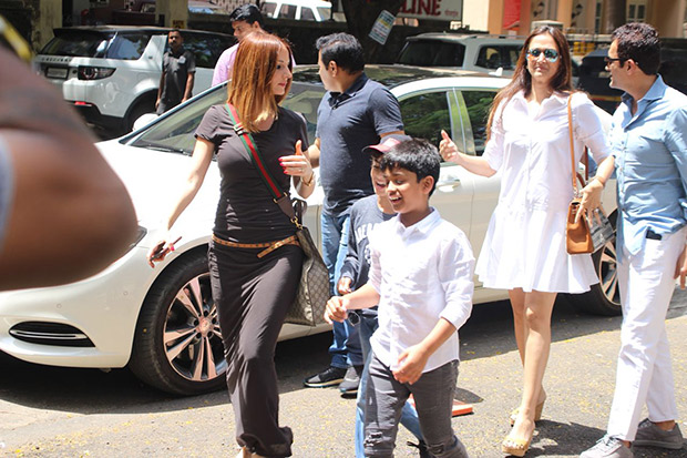 Hrithik Roshan and Sussanne Khan are one big happy family as they lunch with kids (see pictures)