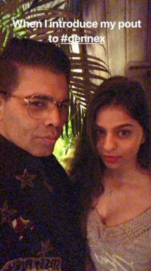 Karan Johar has started directing Suhana Khan already This picture is a sure giveaway!