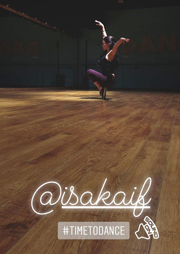 SNEAK PEEK: Sooraj Pancholi gives a glimpse of Isabelle Kaif as she preps for Time To Dance