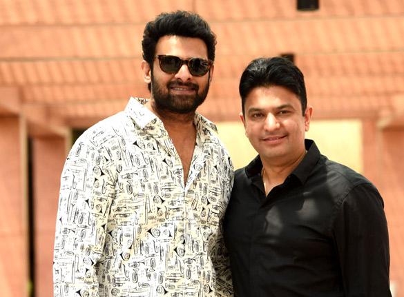 Baahubali star Prabhas starrer Saaho finds a co-producer in Bhushan Kumar