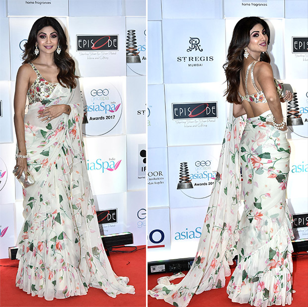 Shilpa Shetty makes a case for ruffles and florals this season