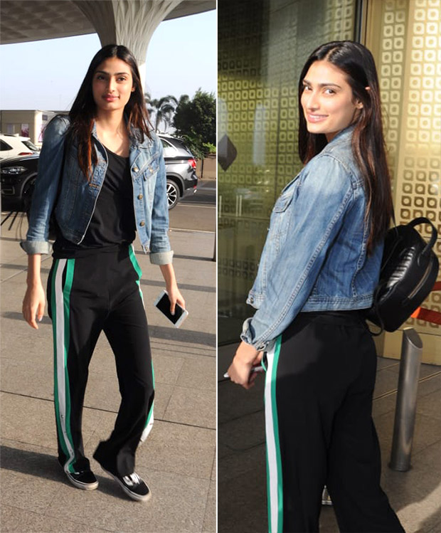 Weekly Airport Style - Athiya Shetty