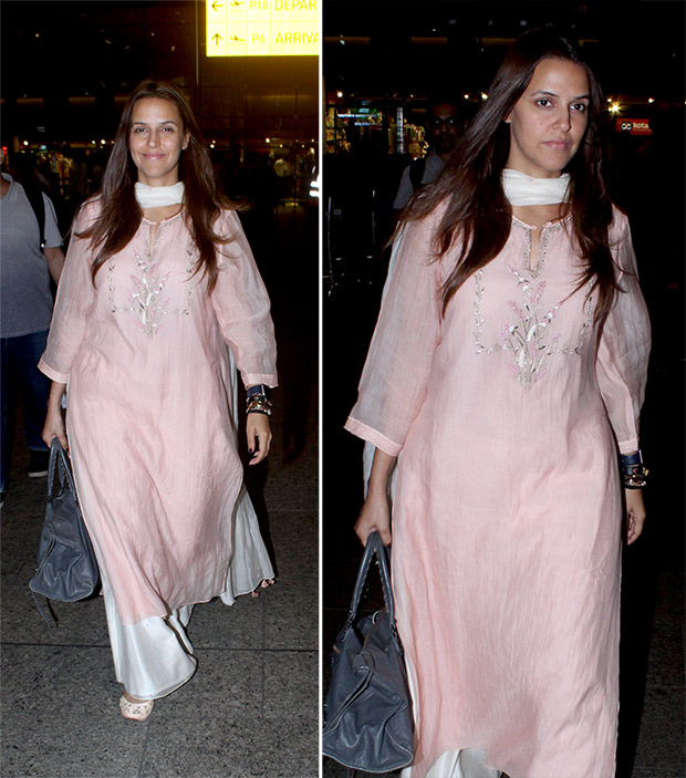 Weekly Celebrity Airport Style - Neha Dhupia