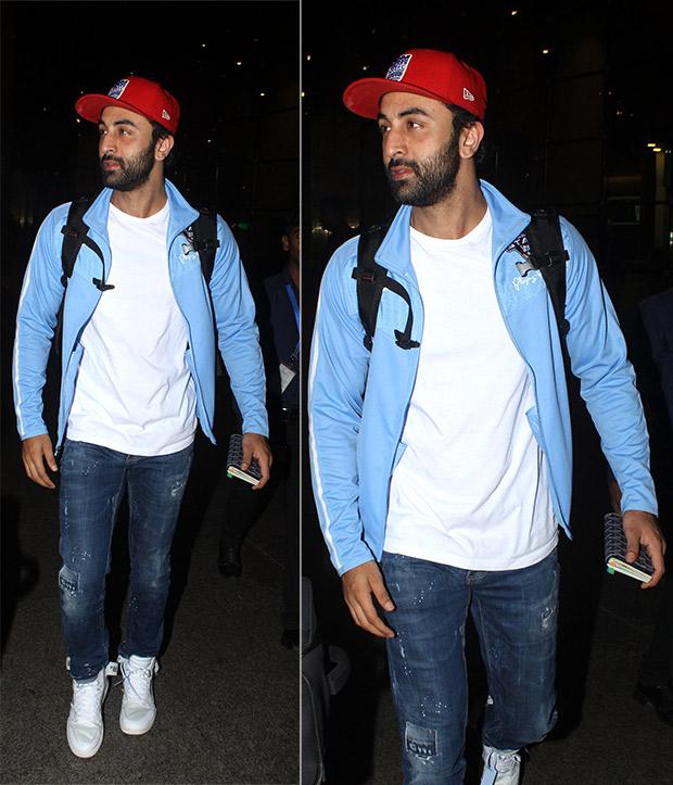 Weekly Celebrity Airport Style - Ranbir Kapoor