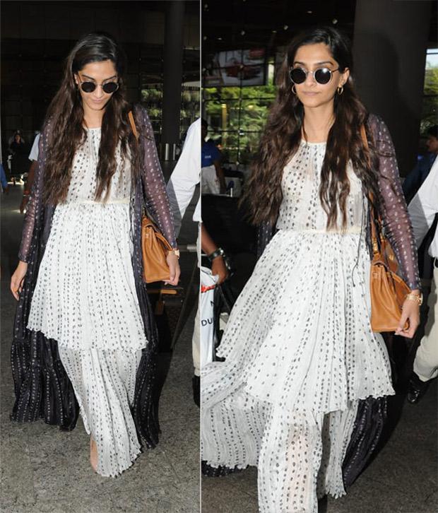 Weekly Celebrity Airport Style - Sonam Kapoor