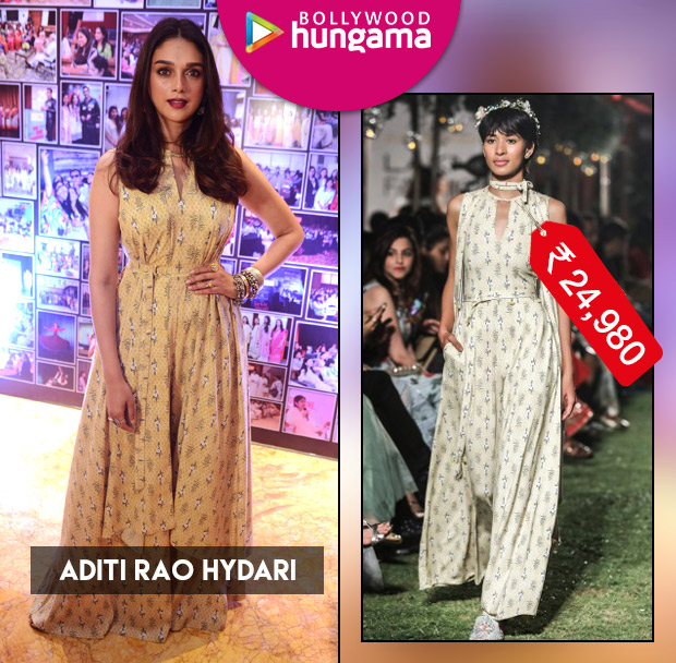 Weekly Celebrity Splurges - Aditi Rao Hydari