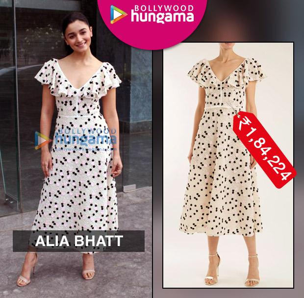 Weekly Celebrity Splurges - Alia Bhatt in Giambattista Valli