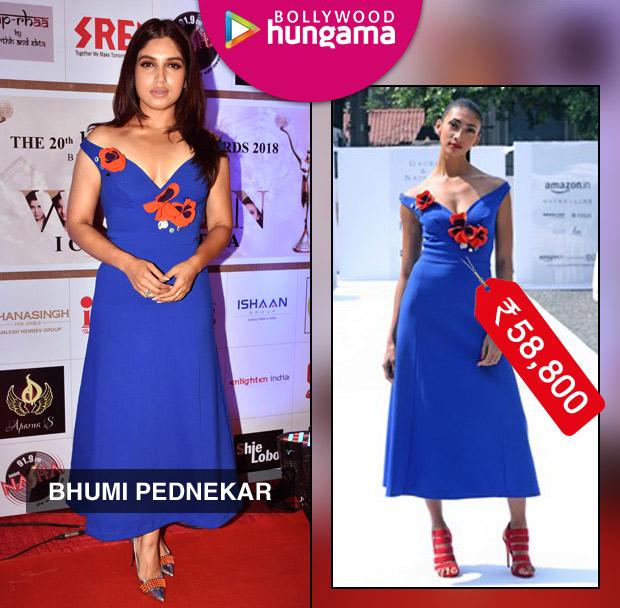 Weekly Celebrity Splurges - Bhumi Pednekar in Gauri & Nainika