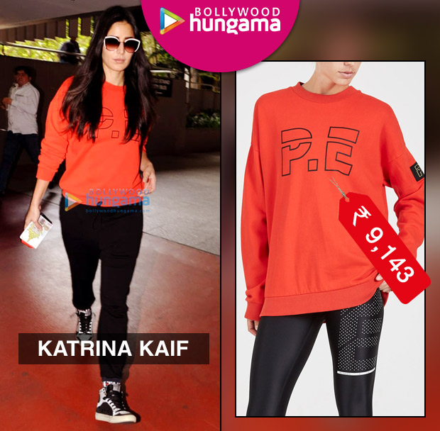 Weekly Celebrity Splurges - Katrina Kaif in PE Nation