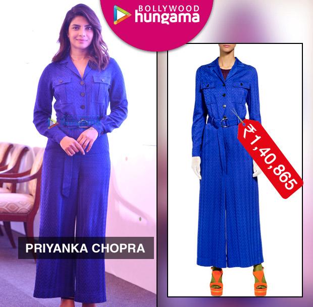 Weekly Celebrity Splurges - Priyanka Chopra in Missoni