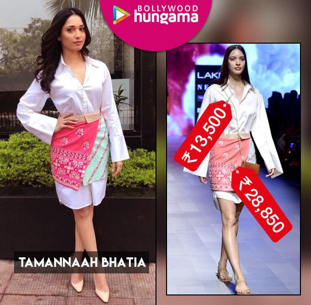 Weekly Celebrity Splurges - Tamannaah Bhatia