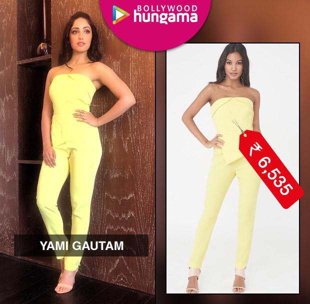 Weekly Celebrity Splurges - Yami Gautam in Lavish Alice