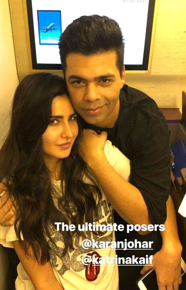 What are Katrina Kaif, Karan Johar and Manish Malhotra upto in London?
