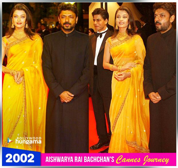 Aishwarya Rai Bachchan Cannes journey 2002