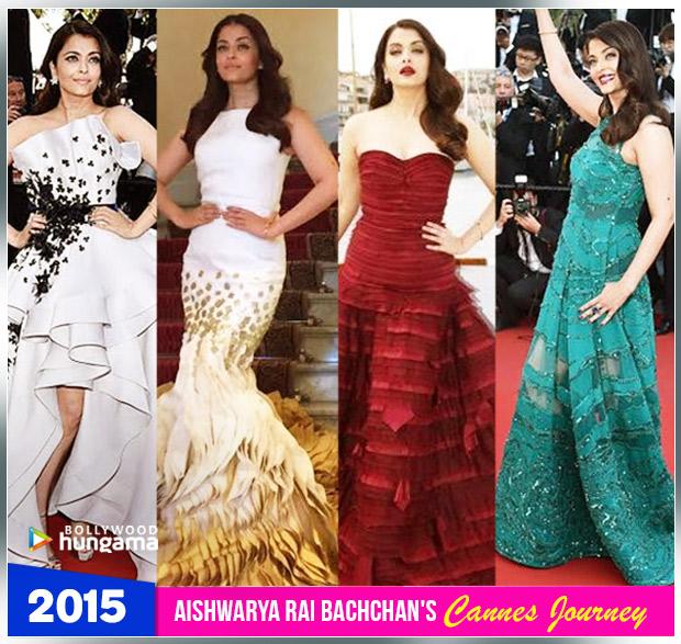 Aishwarya Rai Bachchan Cannes journey 2015