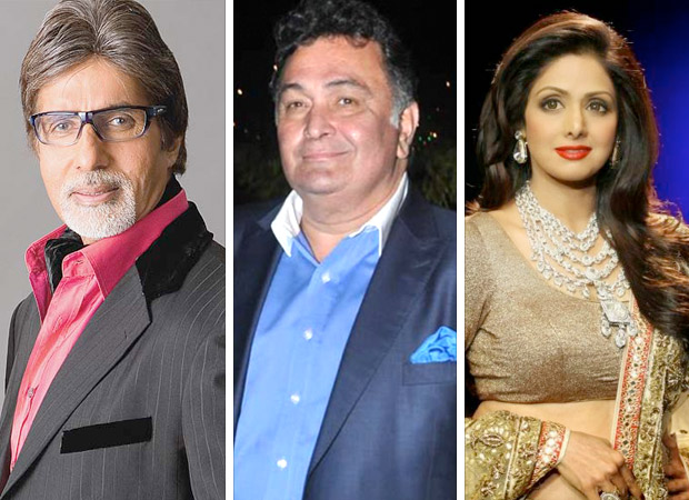 Amitabh Bachchan, Rishi Kapoor and Sridevi - Actors who have shown that old is still gold at the Box Office