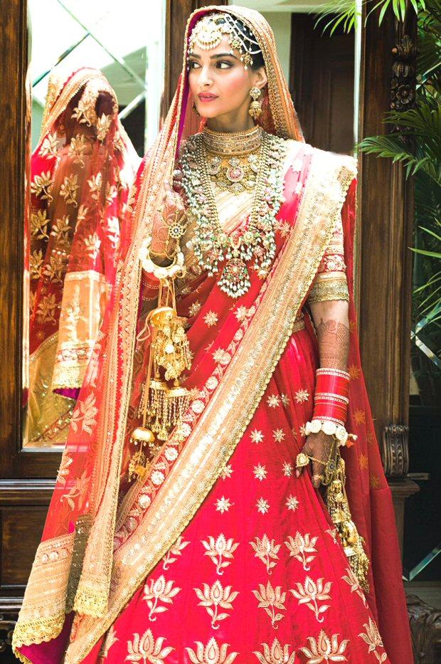 Bride Sonam Kapoor