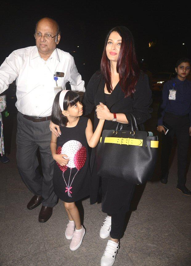 Cannes 2018: Aishwarya Rai Bachchan and Aaradhya Bachchan leave for the French Rivera