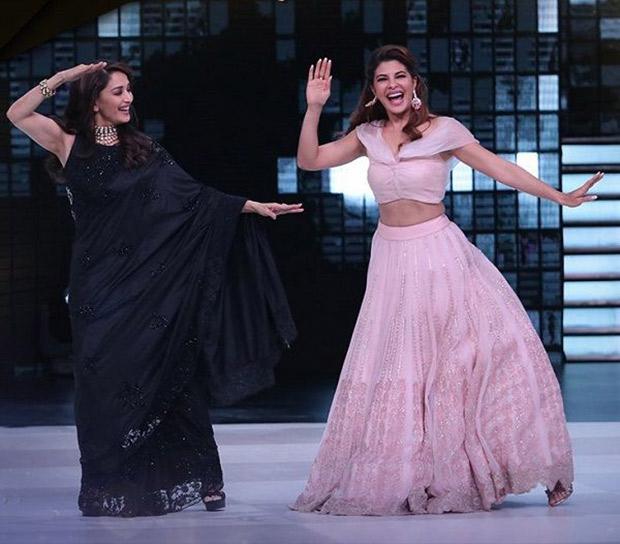 Dance Deewane: Jacqueline Fernandez grooves with original 'Mohini' Madhuri Dixit on 'Ek Do Teen'