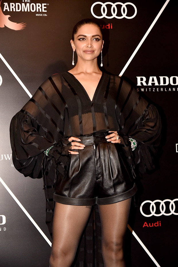 Deepika Padukone sports a high braid at GQ Best Dressed 2018