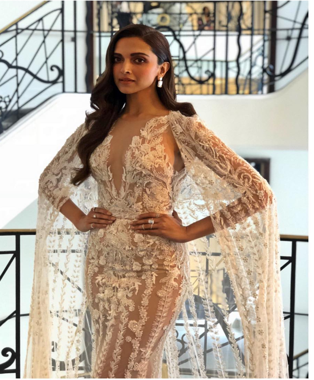 Deepika Padukone works that sheer gown like magic in Cannes