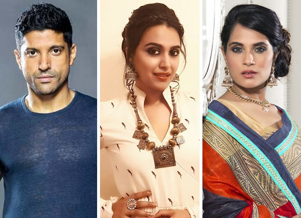 Farhan Akhtar, Swara Bhasker and others rally behind Richa Chadha after she receives rape and death threats