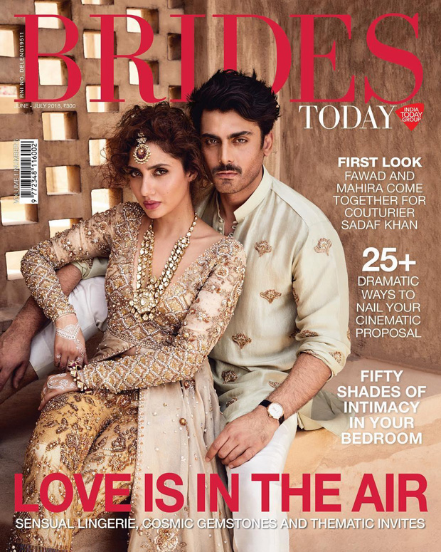 Fawad Khan is Mahira Khan's ROYAL HUMSAFAR forever; this mag cover is a proof