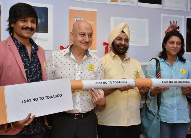 Here's how Vivek Oberoi has CONTRIBUTED to the cause of a Tobacco Free world this time
