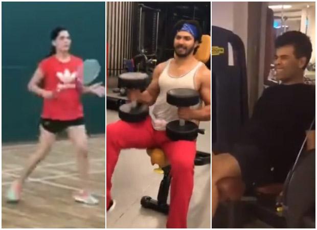 #HumFitToIndiaFit: Varun Dhawan, Karan Johar, Sushant Singh Rajput and Saiyami Kher join Rajyavardhan Singh Rathore's fitness challenge