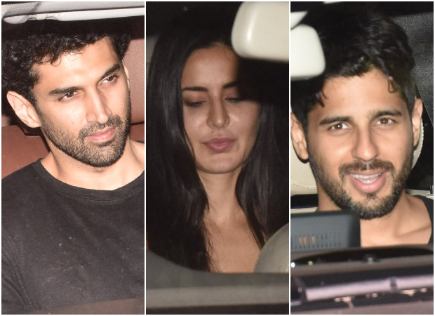 INSIDE PICS Katrina Kaif and Sidharth Malhotra party TOGETHER with Abhishek and Shweta Bachchan