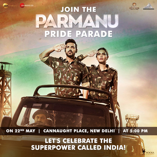 John Abraham and Diana Penty to lead Parmanu Pride Parade in Delhi