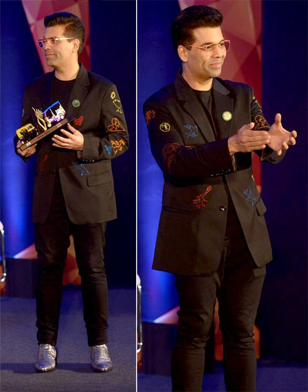 Karan Johar at IIFA 2018 Press con