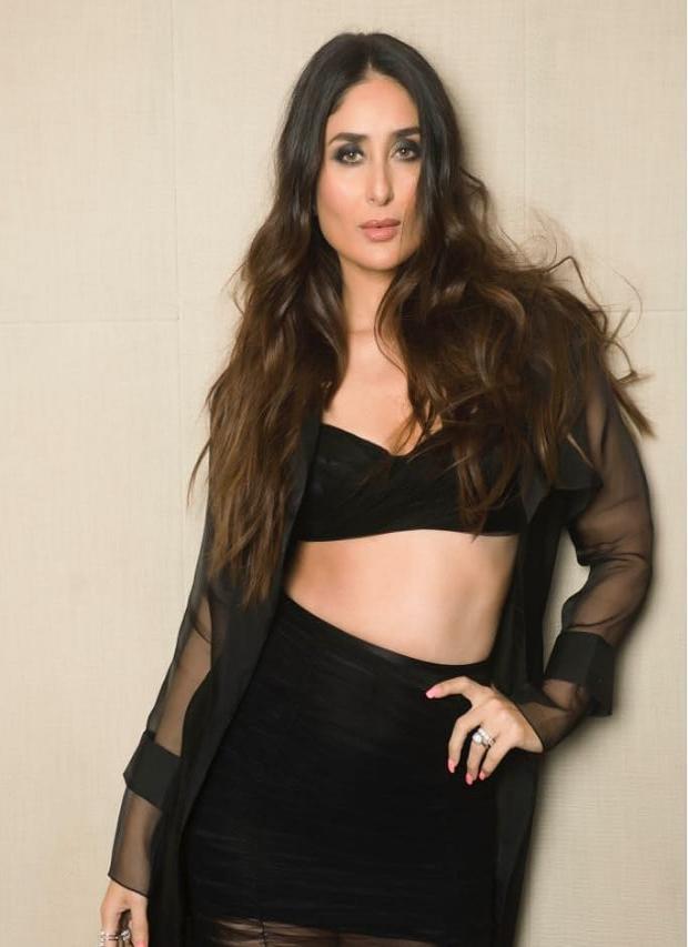 Kareena Kapoor Khan stuns in black for Veere Di Wedding music album launch (1)