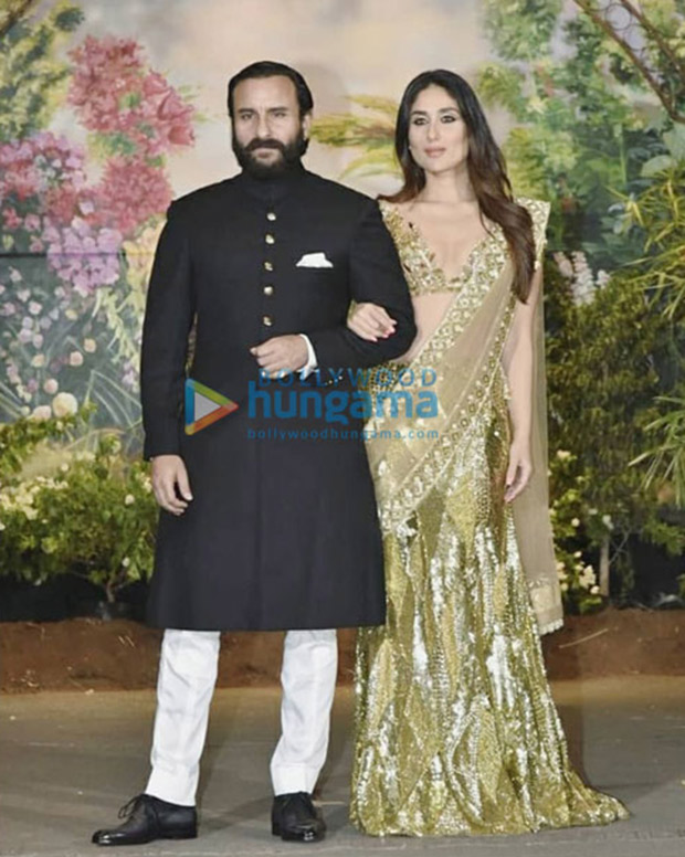 Kareena Kapoor is out of control as DJ plays Saif Ali Khan's song 'Ole Ole' at Sonam Kapoor's reception!